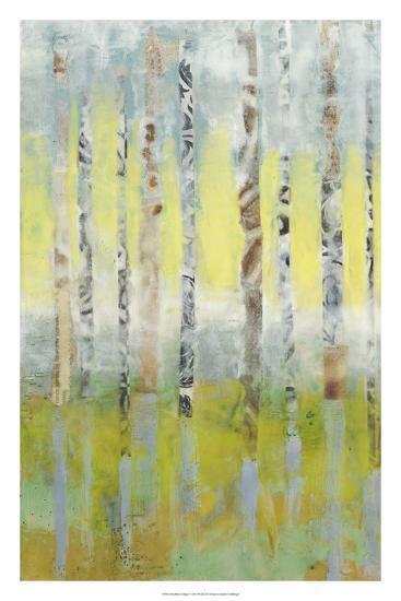 Birchline Collage I-Jennifer Goldberger-Premium Giclee Print