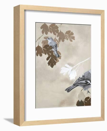 Bird 3- Design Fabrikken-Framed Art Print