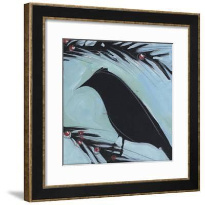 Bird And Berries 4-Tim Nyberg-Framed Giclee Print