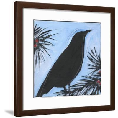 Bird And Berries 9-Tim Nyberg-Framed Giclee Print
