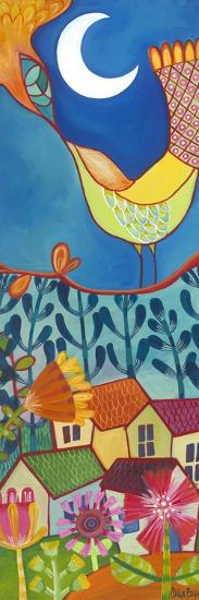 Bird and Moon-Carla Bank-Giclee Print