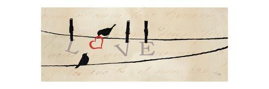 Bird at Heart II-Pela Design-Premium Giclee Print