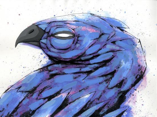Bird At Rest-Ric Stultz-Giclee Print