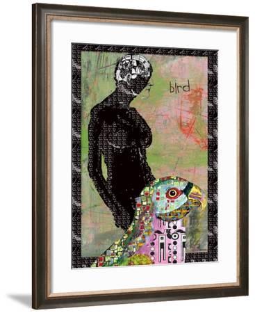BIRD BRAIN-Ricki Mountain-Framed Art Print