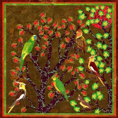 Bird Calls 21-David Sheskin-Giclee Print