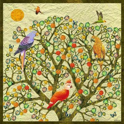 Bird Calls 46-David Sheskin-Giclee Print