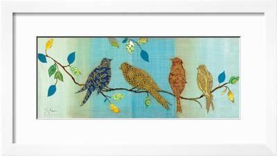 Bird Chat I Art Print Tava Studios Art Com