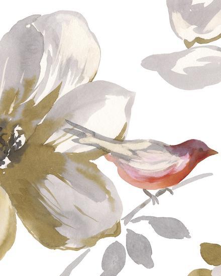 Bird Chatter I-Sandra Jacobs-Art Print