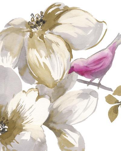 Bird Chatter II-Sandra Jacobs-Art Print