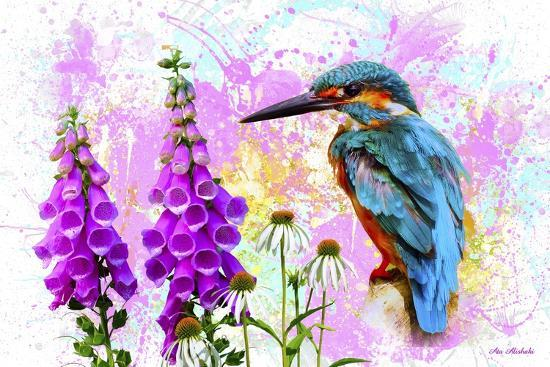 Bird Collection 40SEP2-Ata Alishahi-Giclee Print