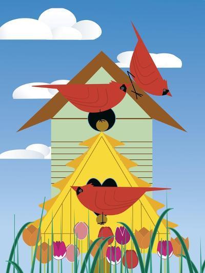 Bird Condo-Marie Sansone-Giclee Print