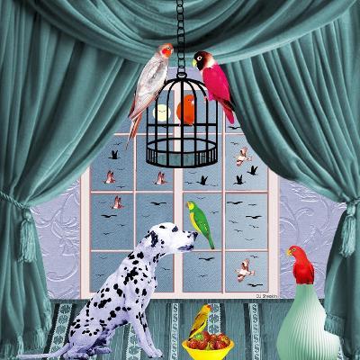 Bird Dogs VIII-David Sheskin-Giclee Print
