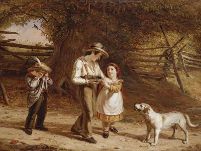Bird-Egging, 1844-David Gilmour Blythe-Giclee Print