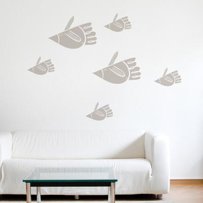 Bird Fish Wall Decal--Wall Decal