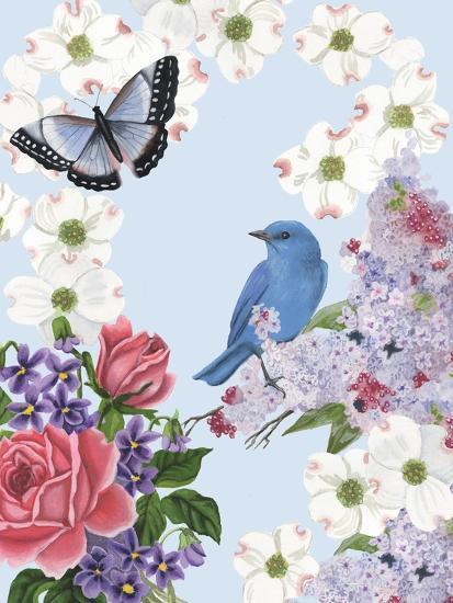 Bird Garden I-Naomi McCavitt-Art Print
