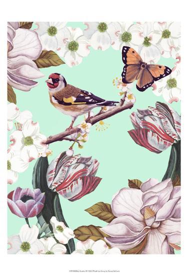 Bird Garden III-Naomi McCavitt-Art Print