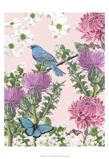 Bird Garden IV-Naomi McCavitt-Art Print