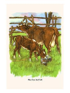 Moo Cow and Calf by Bird & Haumann