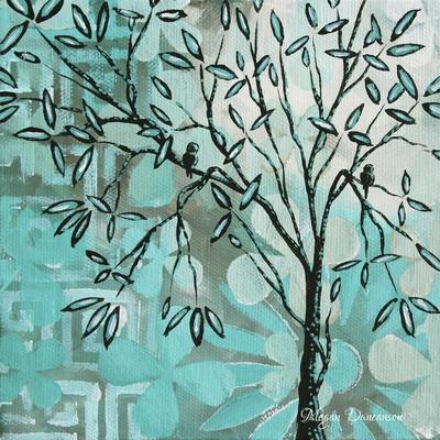 Bird Haven 1-Megan Aroon Duncanson-Framed Giclee Print