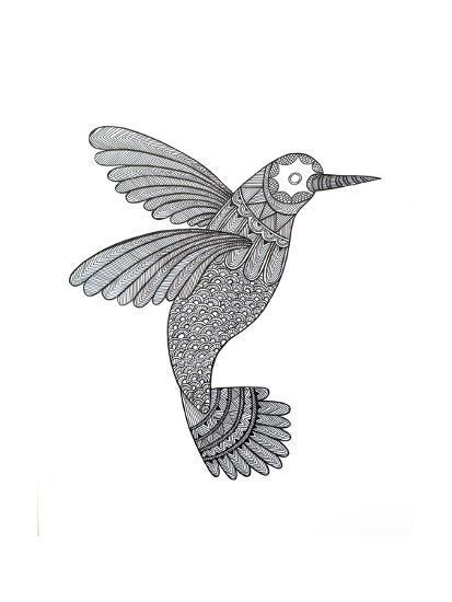 Bird Hummingbird-Neeti Goswami-Art Print