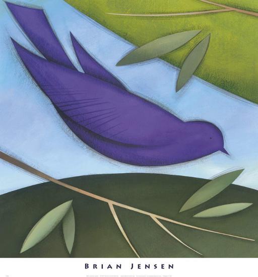 Bird I-David Jensen-Art Print