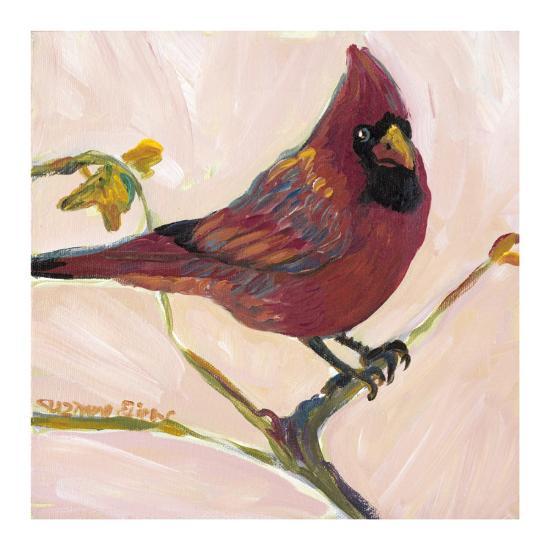 Bird II-Suzanne Etienne-Art Print