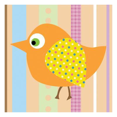 Bird IIlustration-Lauren Gibbons-Art Print