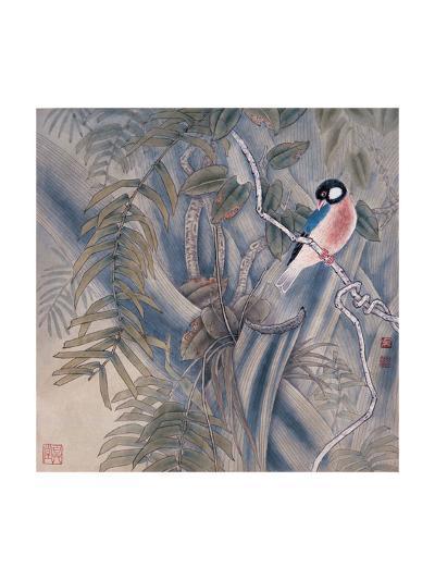 Bird in Autumn-Qishu Wu-Giclee Print