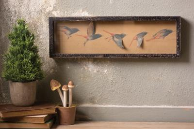 Bird in Flight Diorama