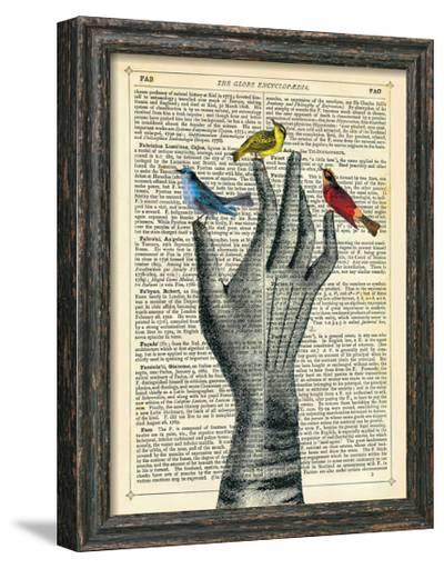 Bird in the Hand-Marion Mcconaghie-Framed Giclee Print