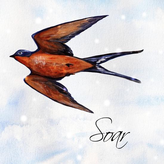Bird Inspiration II-Irina Trzaskos Studio-Giclee Print