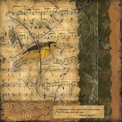 Bird Melody II-Nancy Slocum-Art Print