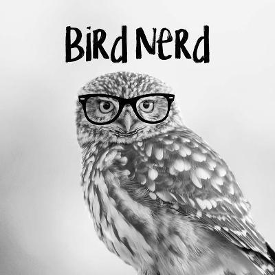 Bird Nerd - Owl-Color Me Happy-Art Print
