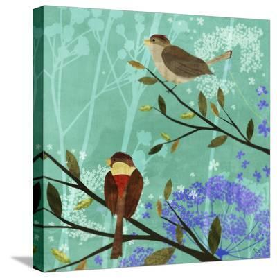 Bird Nest I-Kay Daichi-Stretched Canvas Print