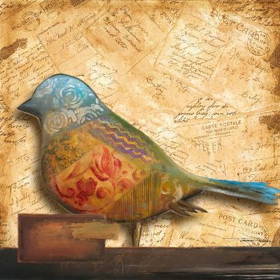 Bird of Collage I-Patricia Pinto-Premium Giclee Print