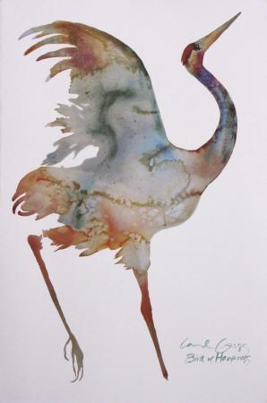 Bird of Happiness-Carol Grigg-Art Print