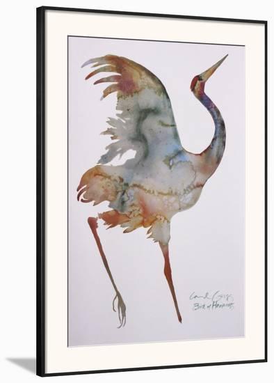 Bird Of Happiness Framed Art Print By Carol Grigg Artcom