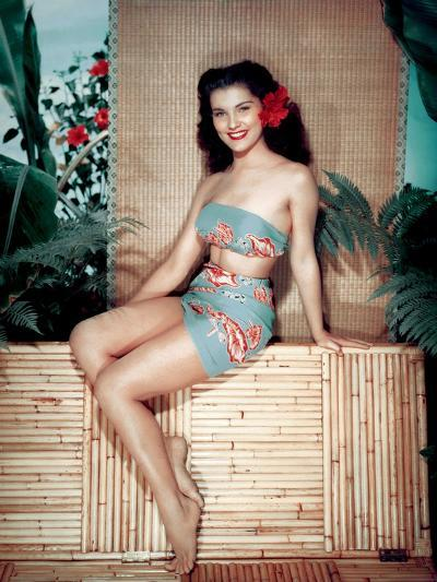 Bird of Paradise 1951 Directed by Delmer Daves Debra Paget--Photo