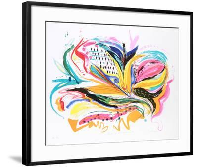 Bird of Paradise IV-Vick Vibha-Framed Collectable Print