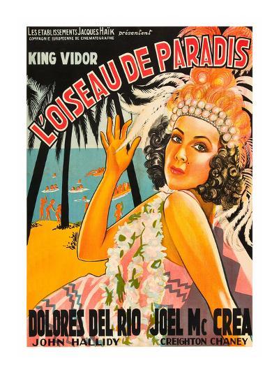"Bird of Paradise ""L'Oiseau De Paradis""--Art Print"