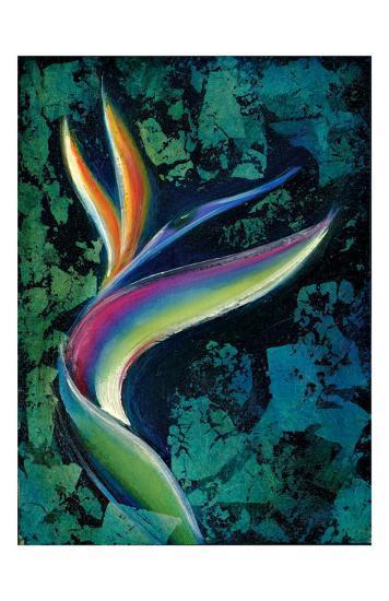 Bird of Paradise-Marcella Rose-Giclee Print