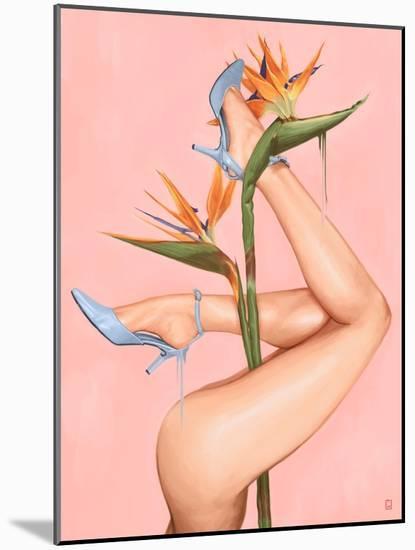 Bird of Paradise-Alexander Grahovsky-Mounted Art Print