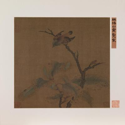 Bird on a Branch--Giclee Print