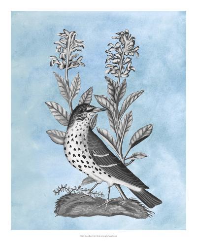 Bird on Blue I-Naomi McCavitt-Giclee Print