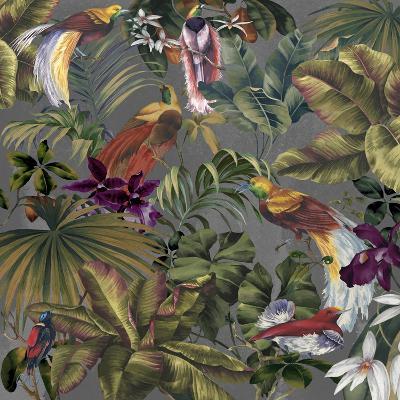 Bird Paradise Neutral-Bill Jackson-Giclee Print