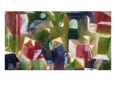 Bird Picture; Vogelbild-Paul Klee-Giclee Print