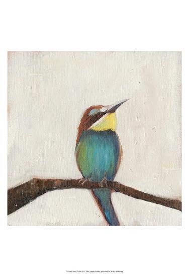 Bird Profile II-Sandra Iafrate-Art Print