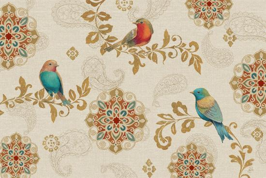 Bird Rainbow IA-Daphne Brissonnet-Art Print