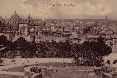 Bird'S-Eye View, Agra City--Photographic Print