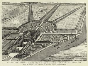 Bird'S-Eye View of Hampton Court as Finished by William III